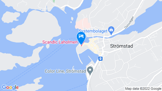 Scandic Laholmen Map