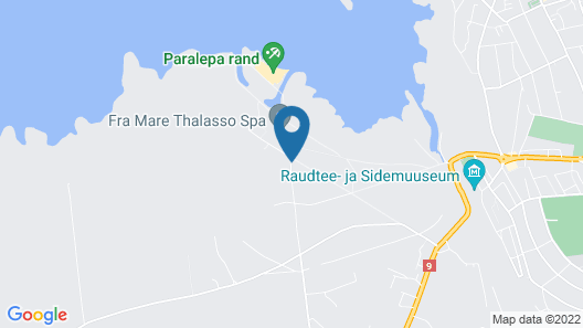 Fra Mare Thalasso Spa Map