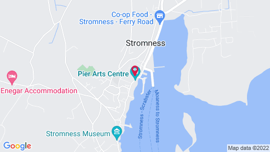 The Stromness Hotel by Paymán Club Map