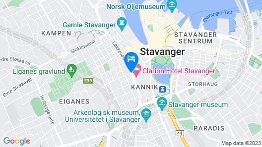 Scandic Royal Stavanger Map