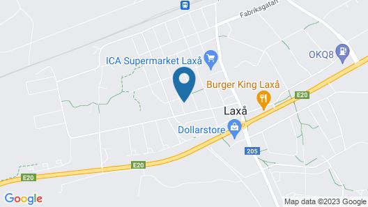 Entire Villa HomelyComfort, Laxå Map