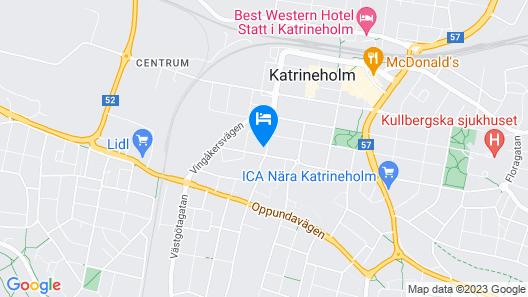 Hotel Kungsbacken Map