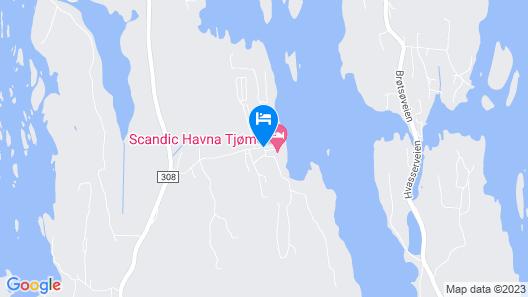 Scandic Havna Tjøme Map