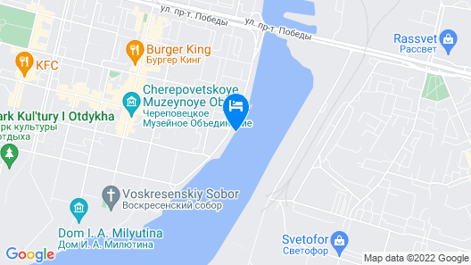Hotel Petr Perviy Map