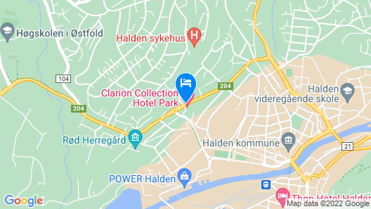 Clarion Collection Hotel Park Map