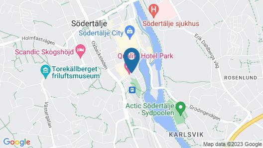 Hotell Kringelstaden Map