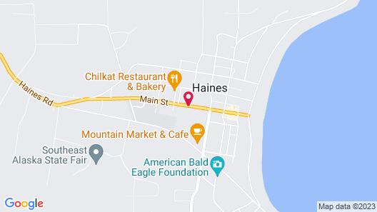 Aspen Suites Hotel Haines Map