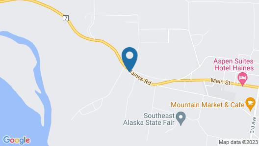 Eagles Nest Motel Map