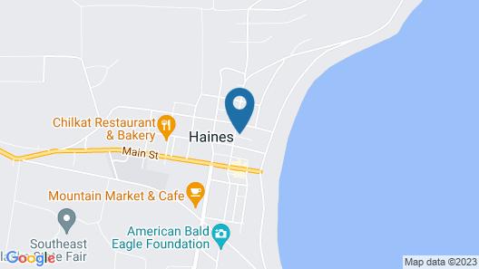 Captain's Choice Motel Map