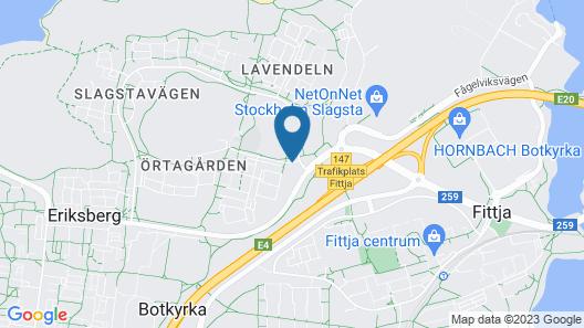 Slagsta Hotell & Wärdshus Map