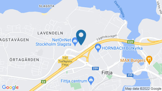 Slagsta Gate Hotell Map