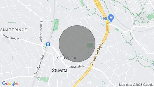 Große Aufenthalt in der Nähe der Messe Stockholm Map