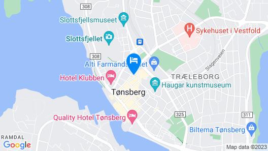 Eksklusiv leilighet Tønsberg Sentrum Map