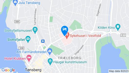 Wilhelmsen house Apartments Map