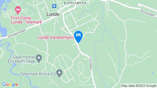 Lunde Vandrerhjem Map