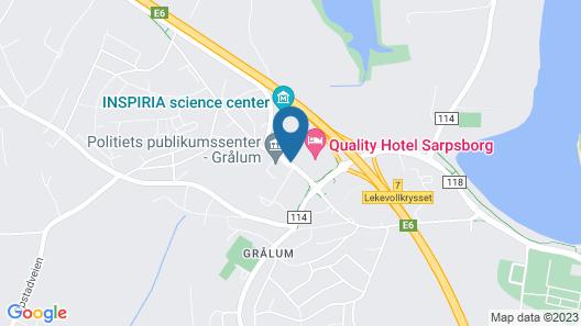 Quality Hotel Sarpsborg Map