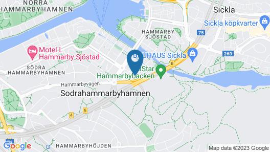 Park Inn by Radisson Stockholm Hammarby Sjöstad Map