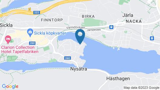 Unik Villa med Sjötomt, på Landet 7 min Från City Map