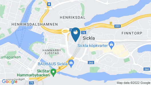 Studio in Nacka Map