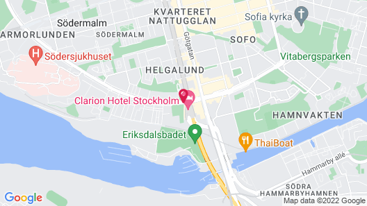Clarion Hotel Stockholm Map