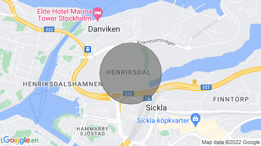 Nice Apartment With Balcony Near the Lock in Stockholm .......................... Map