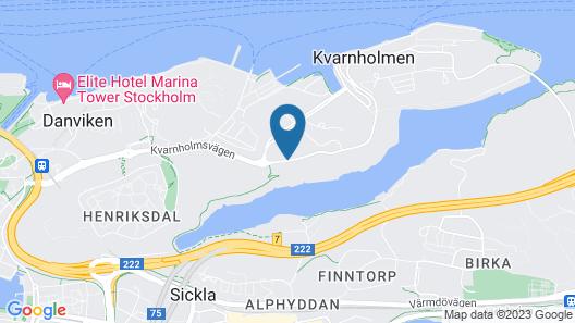 Hotel Kvarnholmen Map