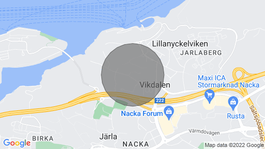 3 Bedroom Accommodation in Nacka Strand Map