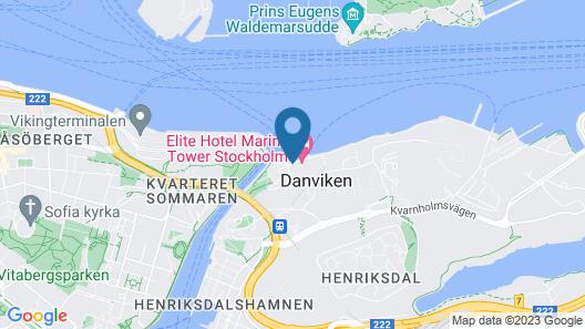 Elite Hotel Marina Tower Map
