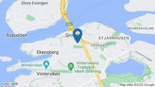 ApartDirect Gröndal Map