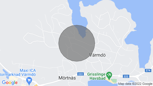 2 Zimmer Unterkunft in Värmdö Map
