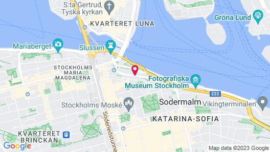 Scandic Sjöfartshotellet Map