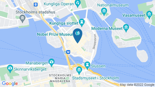 ApartDirect Gamla Stan Map