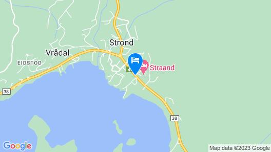 Straand Hotel Map