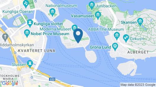Hotel Skeppsholmen, Stockholm, a Member of Design Hotels Map