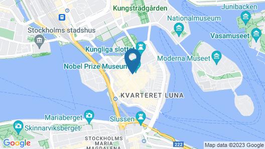 Hotell Den Gyllene Geten Map