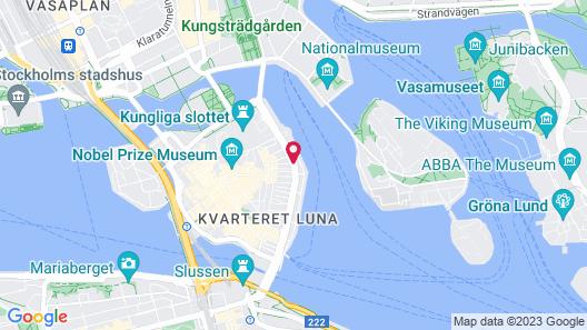Hotell Reisen Map
