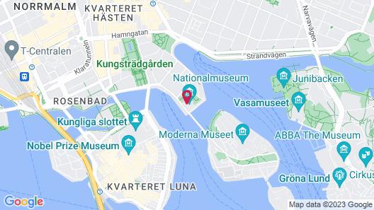 Lydmar Hotel Map