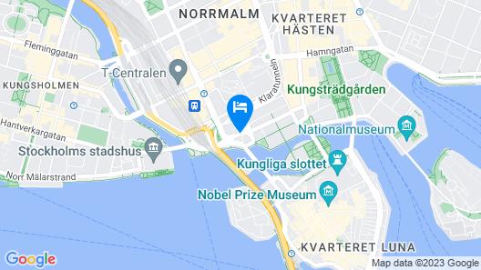Sheraton Stockholm Hotel Map