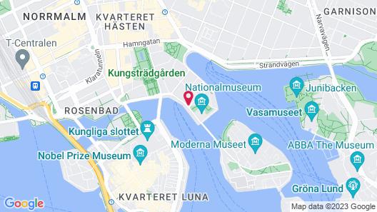 Grand Hôtel Stockholm Map