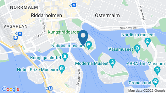 Grand Hôtel Stockholm Map