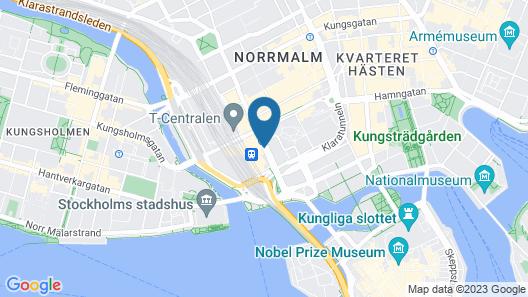 Hotel Terminus Stockholm Map