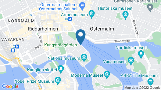 Radisson Collection, Strand Hotel, Stockholm Map
