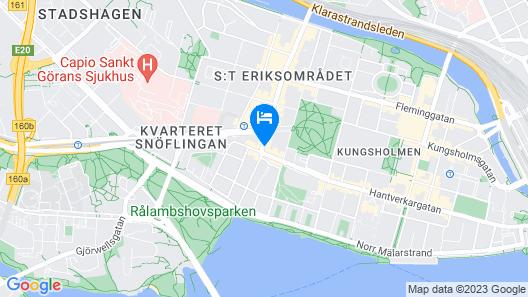 Best Western Hotel Fridhemsplan Map