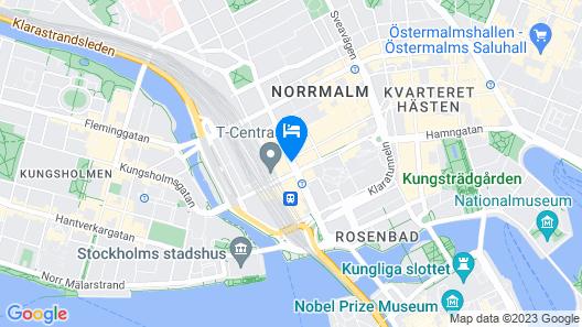 Radisson Blu Royal Viking Hotel, Stockholm Map