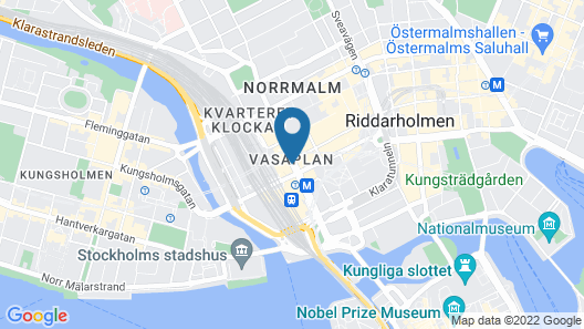 Radisson Blu Royal Viking Hotel, Stockholm Map
