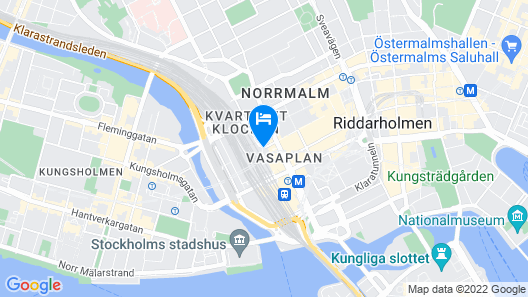 Hotel C Stockholm Map