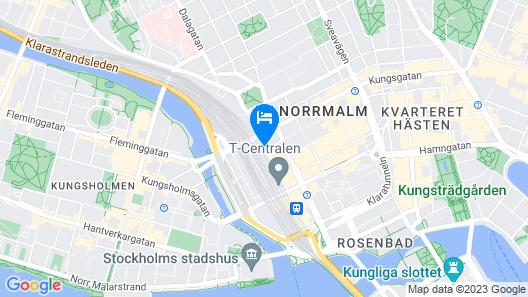 Comfort Hotel Xpress Stockholm Central Map