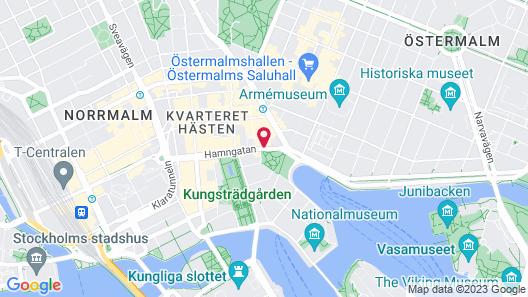 Nobis Hotel Stockholm, a Member of Design Hotels Map