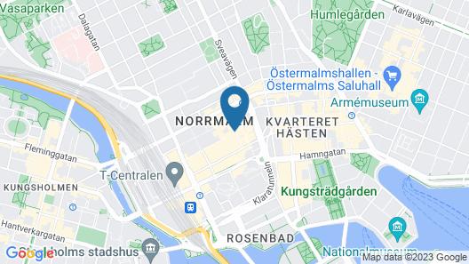 Scandic Klara Map