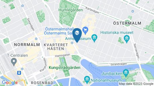 Story Hotel Riddargatan Map